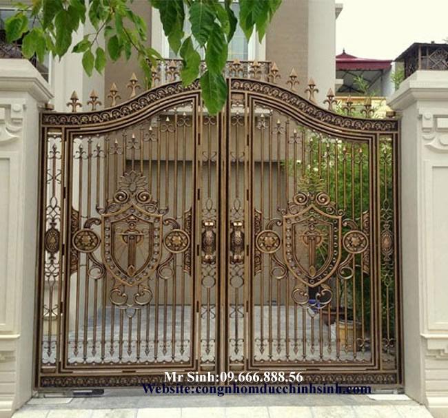 cổng nhôm đúc - C00123