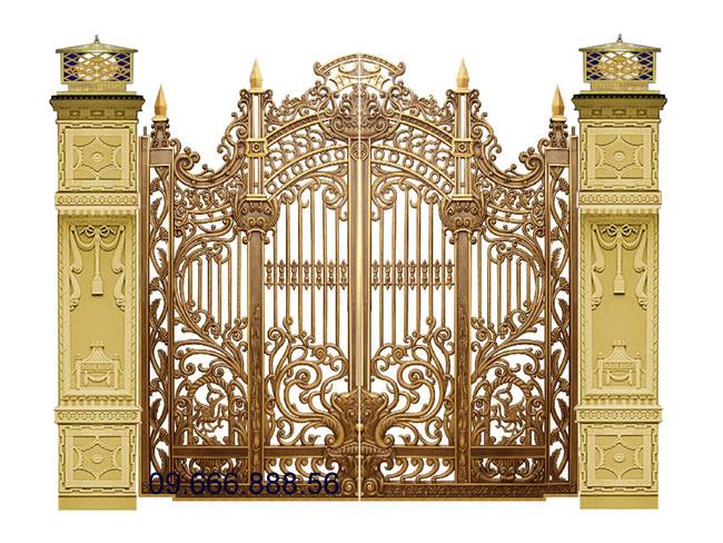 Cổng nhôm đúc - C0051