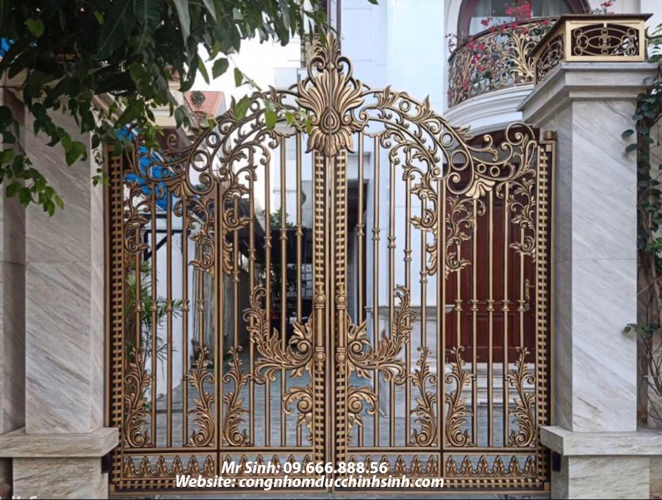 cổng nhôm đúc - C00140
