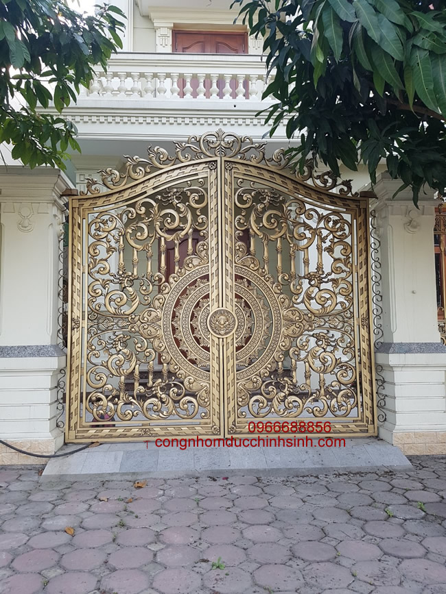 cổng nhôm đúc - C0036