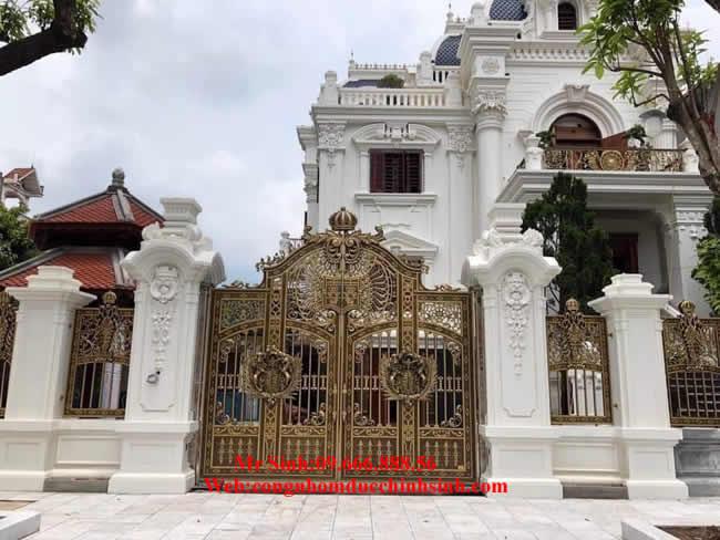 cổng nhôm đúc - C0097