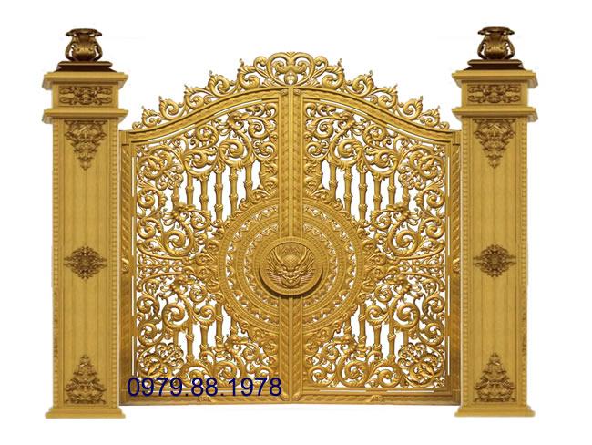Cổng nhôm đúc - C0050