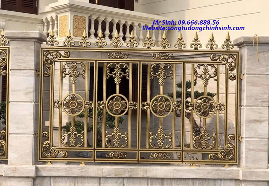 Hàng rào nhôm đúc - HR0063