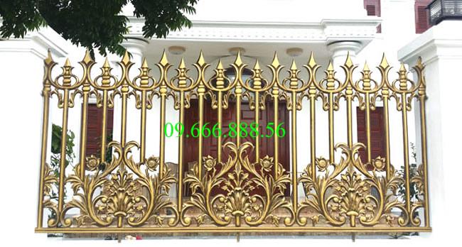 Hàng rào nhôm đúc - HR0022