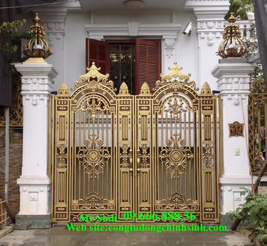 cổng nhôm đúc - C0077