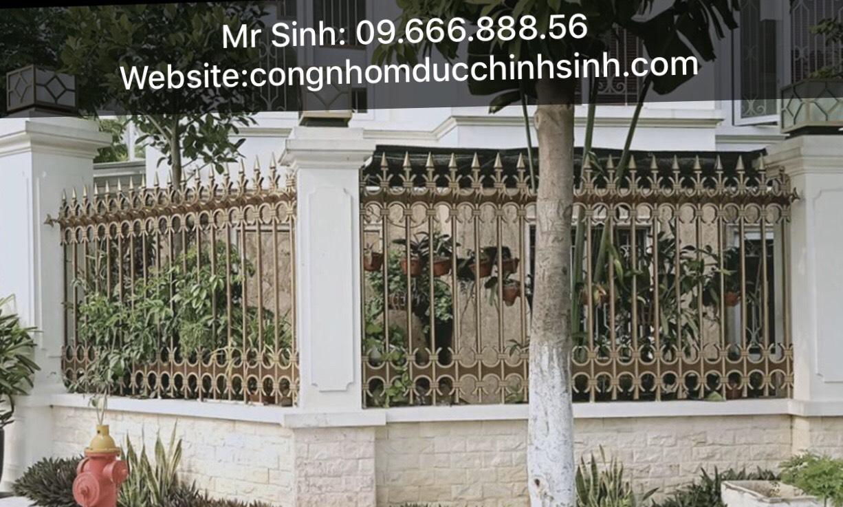 Hàng rào nhôm đúc - HR0068