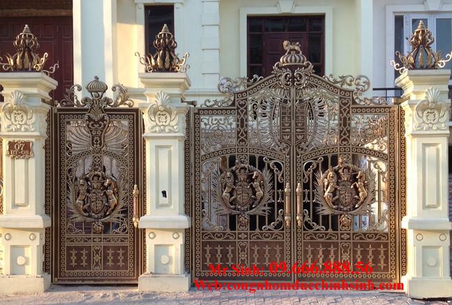 cổng nhôm đúc - C00134