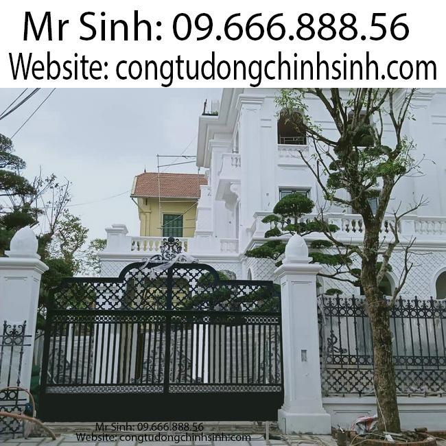 cổng nhôm đúc - C00172