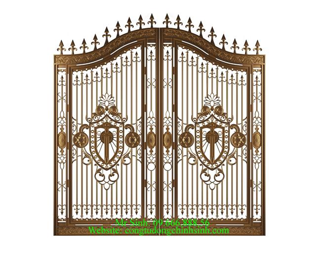 cổng nhôm đúc - C0072