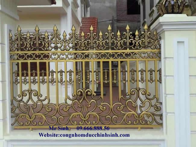 Hàng rào nhôm đúc - HR0036