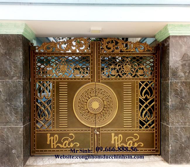 cổng nhôm đúc - C0084
