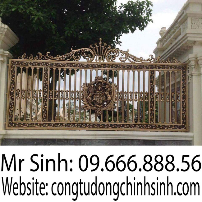 Hàng rào nhôm đúc - HR0083