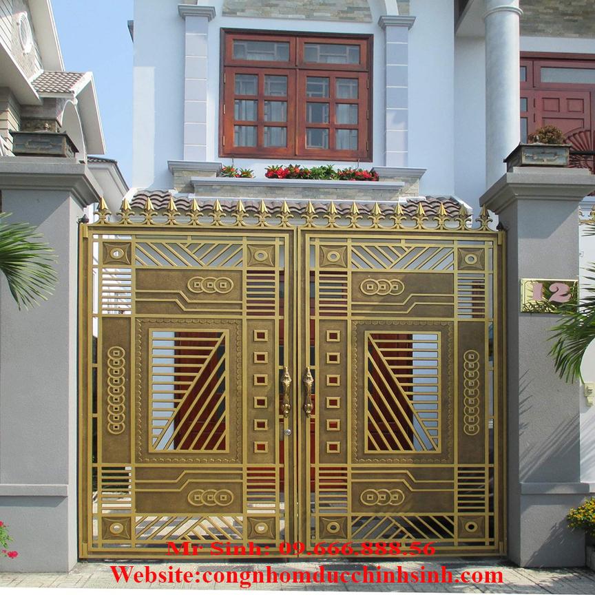 cổng nhôm đúc - C00157