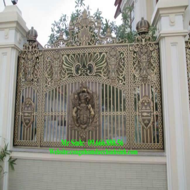Hàng rào nhôm đúc - HR0053