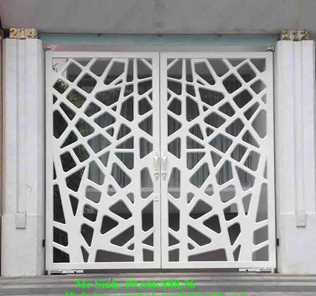 cổng nhôm đúc - C0092