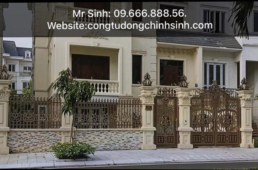 cổng nhôm đúc - C00161