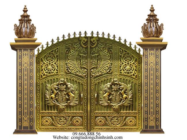 cổng nhôm đúc - C0070