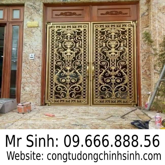cổng nhôm đúc - C00173