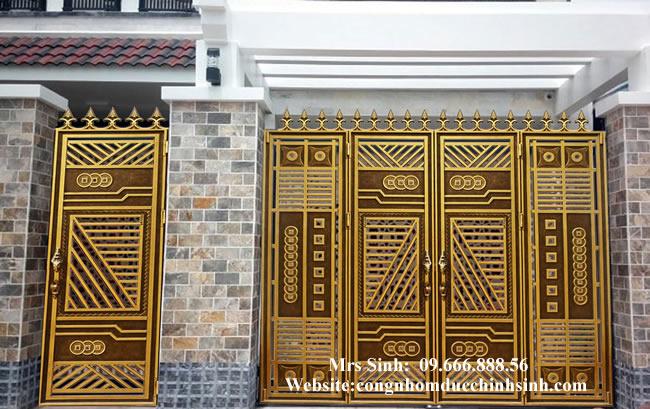 cổng nhôm đúc - C00101