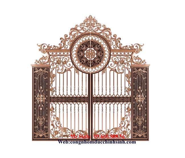 cổng nhôm đúc - C00109