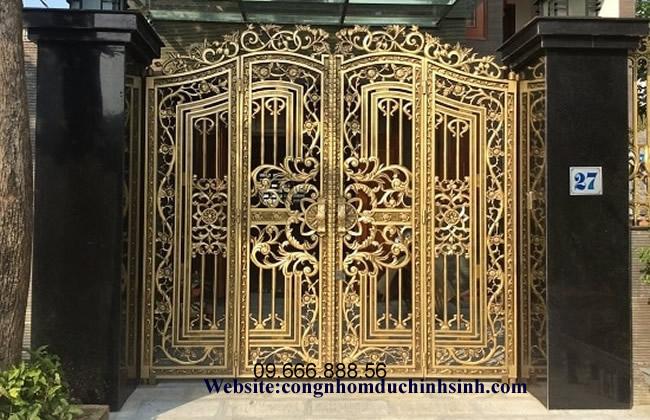 cổng nhôm đúc - C0093