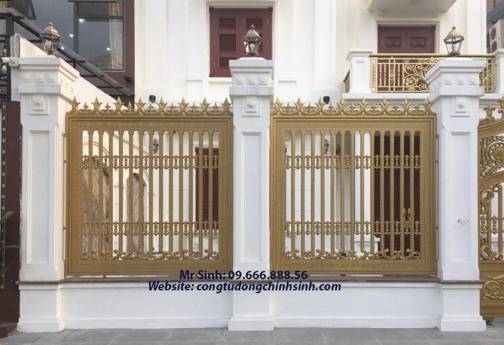 Hàng rào nhôm đúc - HR0060