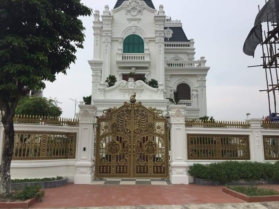 cổng nhôm đúc - C0043