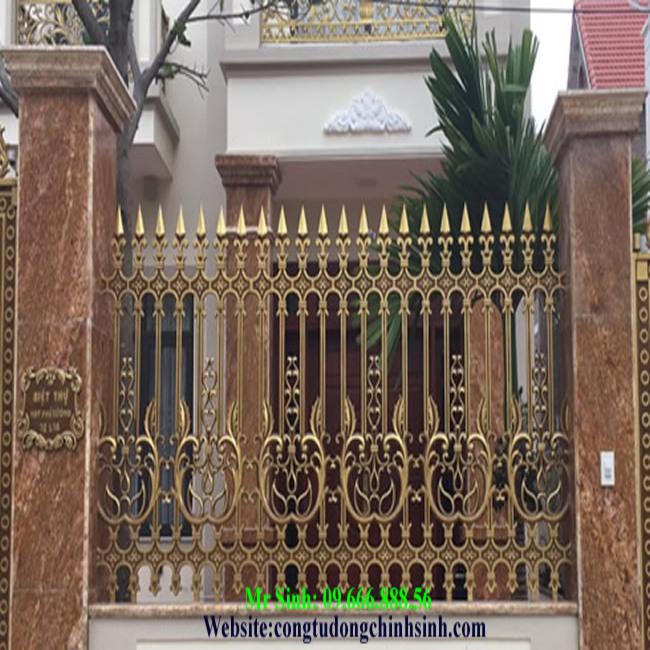 Hàng rào nhôm đúc - HR0056