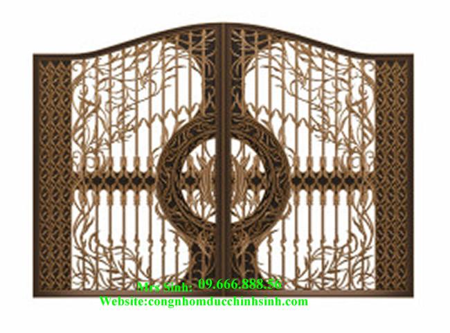 cổng nhôm đúc - C00105