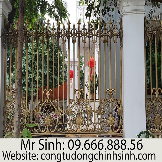 Hàng rào nhôm đúc - HR0087