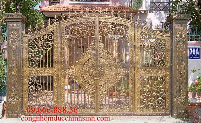cổng nhôm đúc - C0064