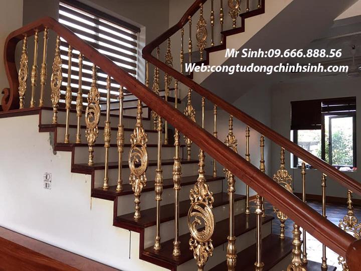 Cầu thang nhôm đúc - CT007