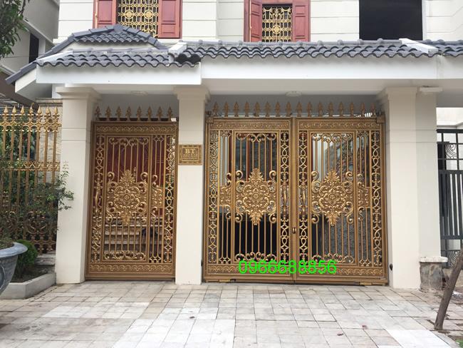 cổng nhôm đúc - C0046