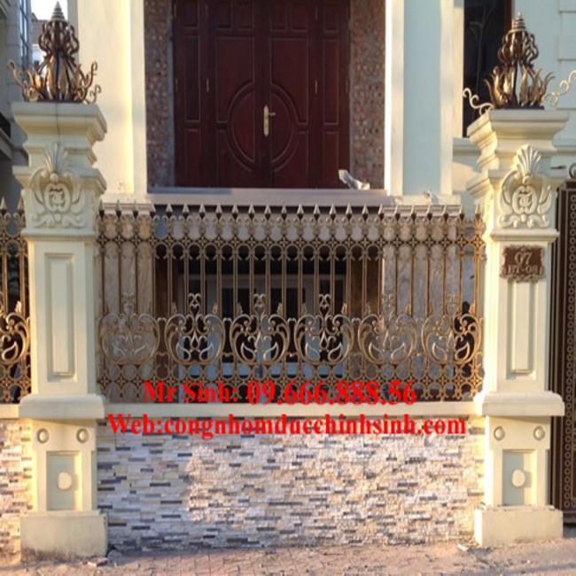 Hàng rào nhôm đúc - HR0050